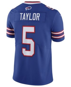Nike Men's Tyrod Taylor Buffalo Bills Vapor Untouchable Limited Jersey - Blue XXL
