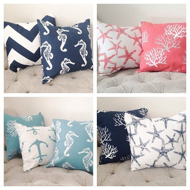 Cute nautical pillows