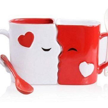 Tazas de besos baratas #tazas #regalos