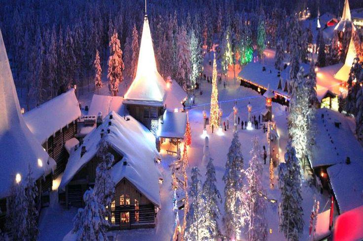 3. ROVANIEMI, LE VILLAGE DU PÈRE NOËL (LAPONIE) - La maison du père Noël existe vraiment ! Pour la t... - Rovaniemi Office de Tourisme