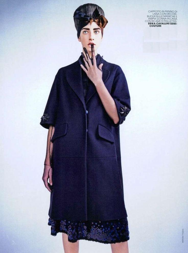 Erika Cavallini Semi-Couture in Marie Claire Italy, November 2014