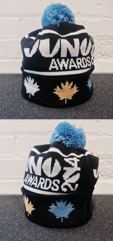 THE JUNO AWARDS Custom Knit Pom Pom Hat