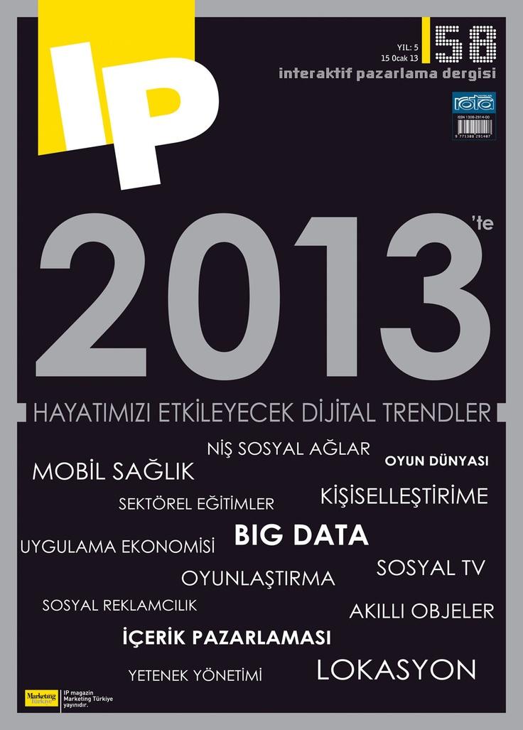 IP Dergisi, Ocak sayısı yayında! Hemen okumak için tıkla: http://www.dijimecmua.com/marketing-turkiye-ekler/    IP Dergisi:  1 ay boyunca tüm sayıların dijital üyeliği 5 lira,  3 ay boyunca tüm sayıların dijital üyeliği 12 lira,  6 ay boyunca tüm sayıların dijital üyeliği 18 lira,  12 ay boyunca tüm sayıların dijital üyeliği 30 lira.    Üye olmak için tıkla: http://www.dijimecmua.com/index.php?c=m
