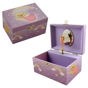 Girls Jewellery Boxes, Childrens jewellery boxes Rainbow Fairy | Becky & Lolo