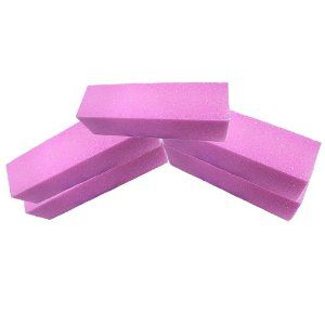 5 Pcs Pink Buffer Buffing Sanding Block File Manicure Pedicure For Nail Art by Crazy Cart. $2.54. Features: 1. Guaranteed for craftsmanship and quality 2. All-sided, convenience for use! 3. Top quality sanding blocks 4. A handy little nail art tool to buff and shape up uneven nail surface before UV gel and acrylic application 5. Lightweight compact and convenient to put in your cosmetic bag, allow you to use anytime and anywhere 6. Easy and ready for use 7. Go...