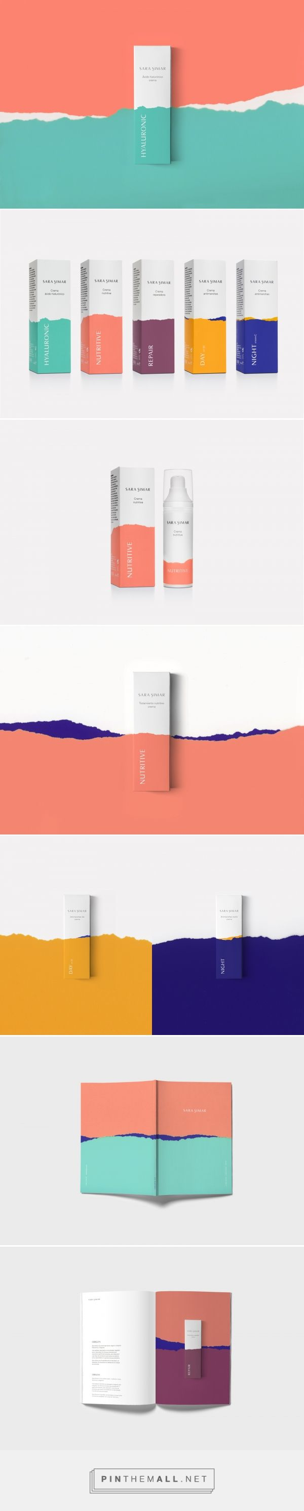 Sara Simar #cosmetics #packaging #design by Democracia estudio - https://www.packagingoftheworld.com/2018/03/sara-simar.html