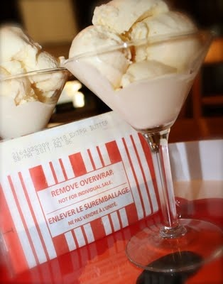 BUTTERED POPCORN ICE CREAM. I tried the recipe and WoW... it really ...