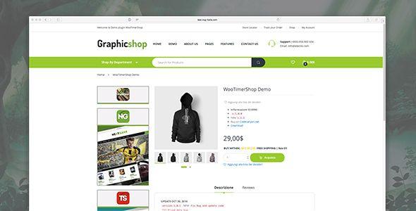 Woocommerce TimerShop