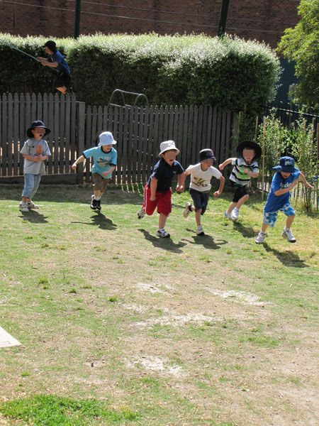 Games such as red light/green light and freeze tag!! Was so much fun!! (I don't think kids ever run/play like that these days! - Sad :(    Oh and don't forget Red Rover!!