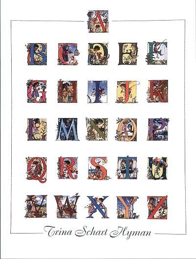 Alphabet Letters Trina Schart Hyman Print