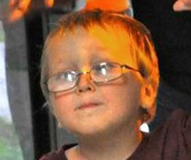 """Mekhi Patrick Dean Boone, 4, of Hiawatha, died March 5, 2013 after suffering from child abuse. The worst child abuse case these doctors had ever seen. Not 2"""" of his body not covered by bruises. Mekhi Patrick Dean Boone, 4, of Hiawatha, died March 5, 2013 after suffering from child abuse at the hands of his father and step-mother."""