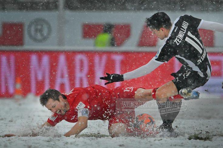 FOTOSTRECKE - DSC Arminia: (18) 17. Spieltag: SV Sandhausen vs. DSC Arminia (1:3)