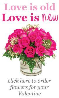 Love is old, Love is new | Johnson's Florist & Garden Centers Valentine's Day arrangements | Washington, DC | Olney, MD | Kensington, MD