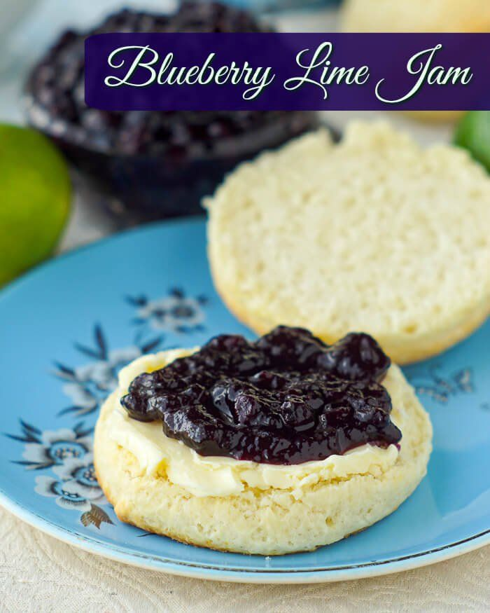 Newfoundland Blueberry Jam with Lime image with title text