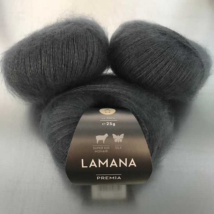 "Gefällt 194 Mal, 10 Kommentare - LAMANA (@lamanayarns) auf Instagram: ""Freshly for the upcoming spring The new LAMANA Premia: 60% super kid mohair/40% silk…"""