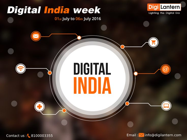 The #DigitalIndiaWeek is being celebrated from 1st July, 2016 to 6th July, 2016. The vision of Digital India programme aims at inclusive growth in areas of electronic services, products, manufacturing and job opportunities etc to accelerate the economic growth and empower its citizens with digitization and mobility. The vision of Digital India is mainly focused on three key areas – #DigitalInfrastructure as a Utility to Every Citizen, Governance & Services on Demand and Digital…