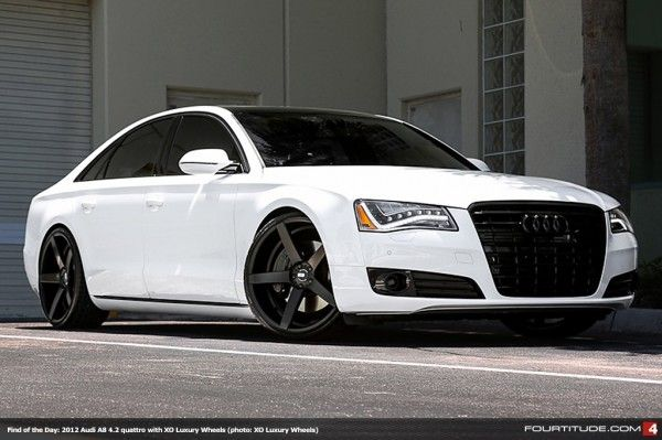 Find of the Day: 2012 Audi A8 4.2 with XO Luxury Wheels - Fourtitude.com