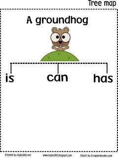 Classroom Freebies: Happy day Mr. Groundhog!