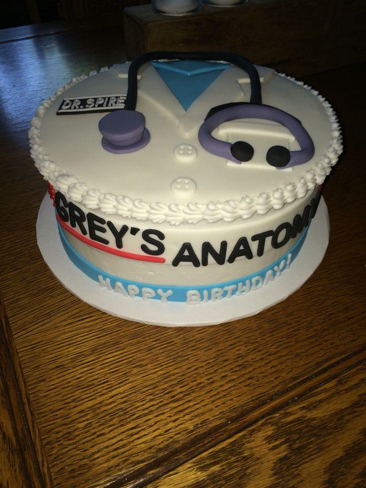 Grey's Anatomy Birthday Cake