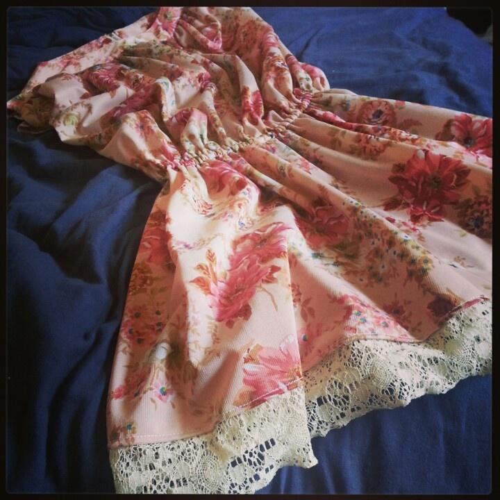 Vintage dress, hem has been altered