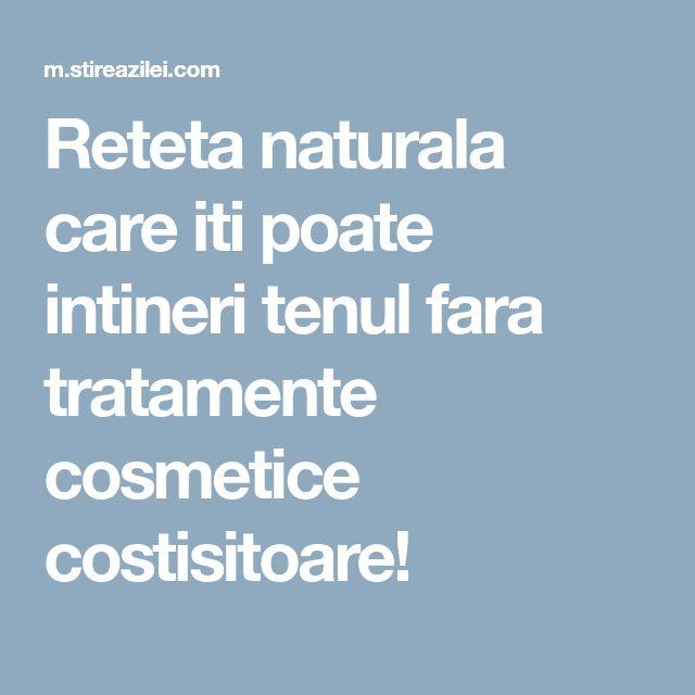 Reteta naturala care iti poate intineri tenul fara tratamente cosmetice costisitoare!