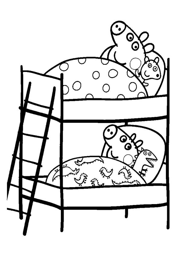 13 best peppa pig images on pinterest   pigs, peppa pig and ... - Peppa Pig Coloring Pages Kids