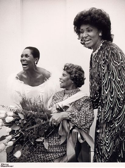 shirley verrett left marian anderson grace bumbry right january 31