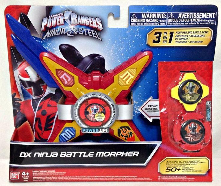 Saban's Power Rangers Ninja Steel DX Ninja Battle Morpher 3 in 1 Ages 4+ NEW  #SabanBrands