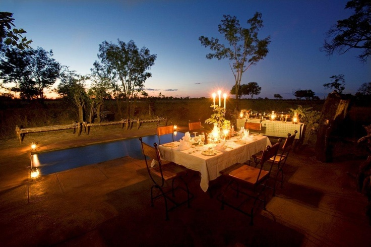 Little Makalolo lies in one of Hwange National Park's best wildlife viewing areas. It offers privacy for guests who enjoy small camps and a sense of remoteness. The area is ecologically diverse, ensuring great numbers of animals year-round.