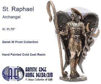 Archangel St. Raphael Derek W Frost Collection