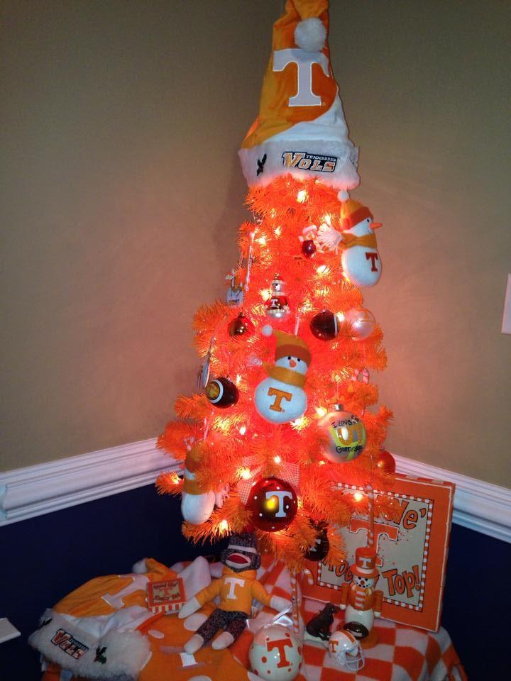 Big Orange Christmas Tree