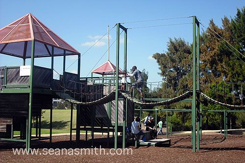 The playground at Holroyd gardens in Merryland is totally child-friendly and…