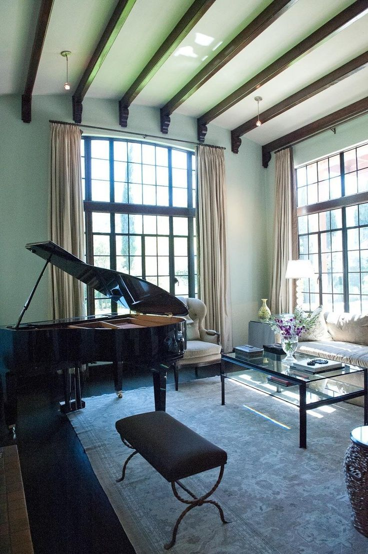 At Home with Kendra Scott. Piano RoomGrand PianosLiving ...