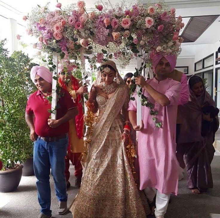 Amrita Puri's Destination Wedding Is the Stuff of Dreams & Here's a Look at All Her Outfits