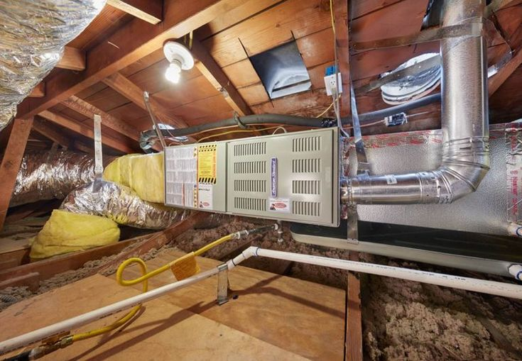 Moving A Furnace To The Attic Some Things To Consider Heating Services High Efficiency Furnace Furnace