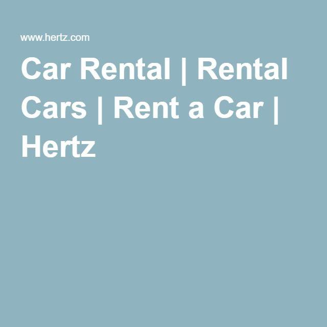 Car Rental | Rental Cars | Rent a Car | Hertz