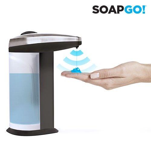 El mejor precio en Hogar 2017 en tu tienda favorita https://www.compraencasa.eu/es/accesorios-de-bano/1663-dispensador-de-jabon-automatico-soap-go.html