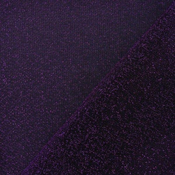 Tissu Lycra lurex disco violet x 10cm