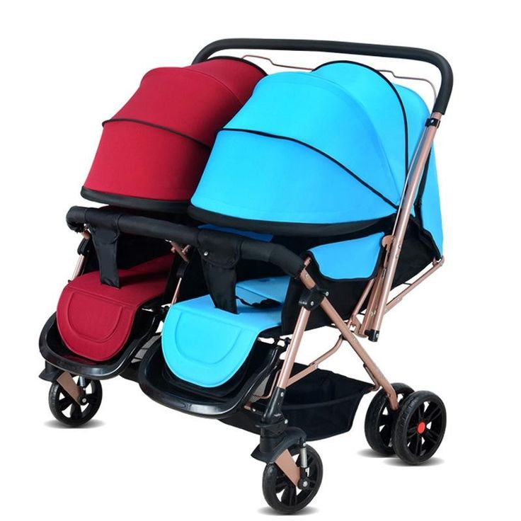 (269.60$)  Watch more here - http://ai1mp.worlditems.win/all/product.php?id=32731862223 - Strollers for Twins 0-3 Years Old Bebek Arabasi Prams for Newborns Baby Girl&Boy Two Babies Stroller Baby Strollers Brands