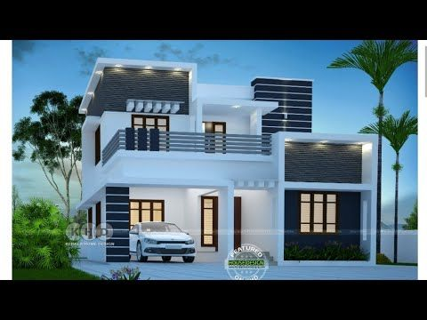 Selected Beautiful Home Designs 2019 New Modern House Designs Kerala Home Designing Youtube Kerala House Design House Front Design