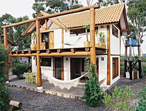 28 fachadas em estilo r stico madeira natural and ems for Ranch rustico