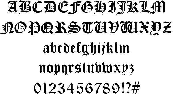 cloister black font by dieter steffmann  fonts  gothic  medieval  type  typography  design