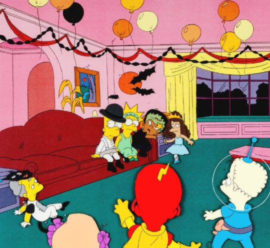 """gravesandghouls: """" The Simpsons: Treehouse of Horror III """""""