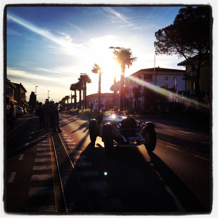 #Millemiglia race in Sirmione, Italy