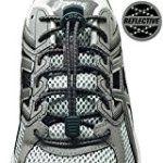 #1: LOCK LACES Reflective (Elastic No Tie Shoelaces)