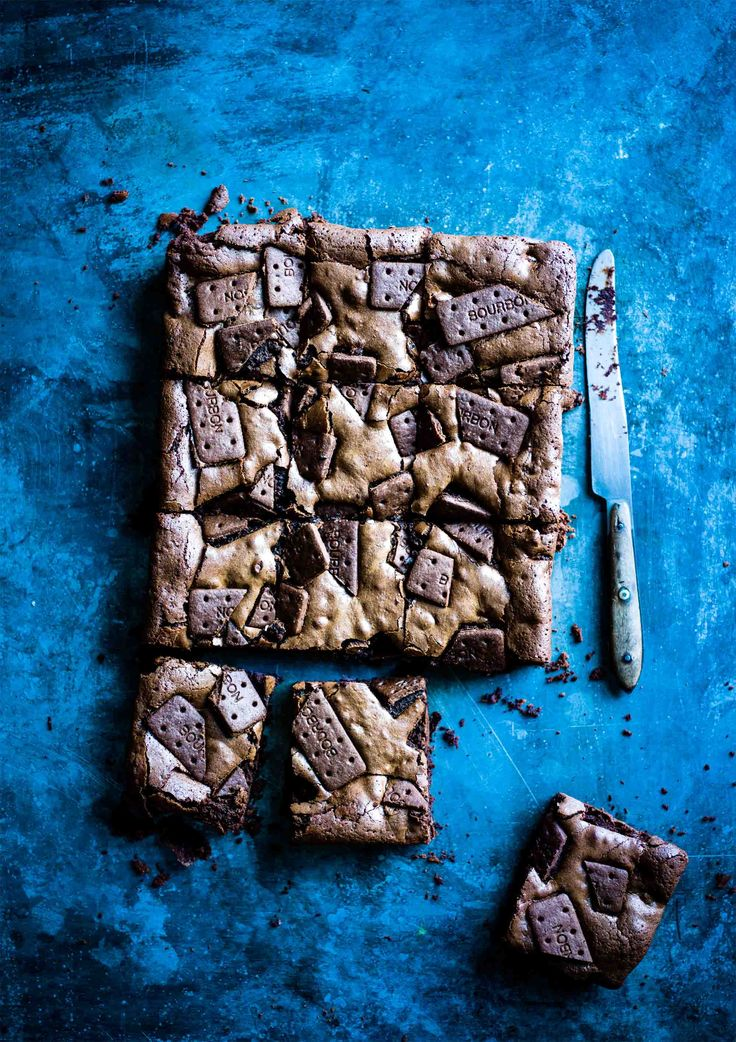 Bourbon biscuit brownies: What's better than a chocolate Bourbon biscuit?…