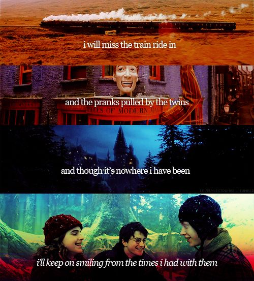 Awww.... I heart me some Harry Potter...: Hp Books, My Childhood, Teary Ey, Books Movie, My Life, So True, So Sad, Life 3, Start Re Reading