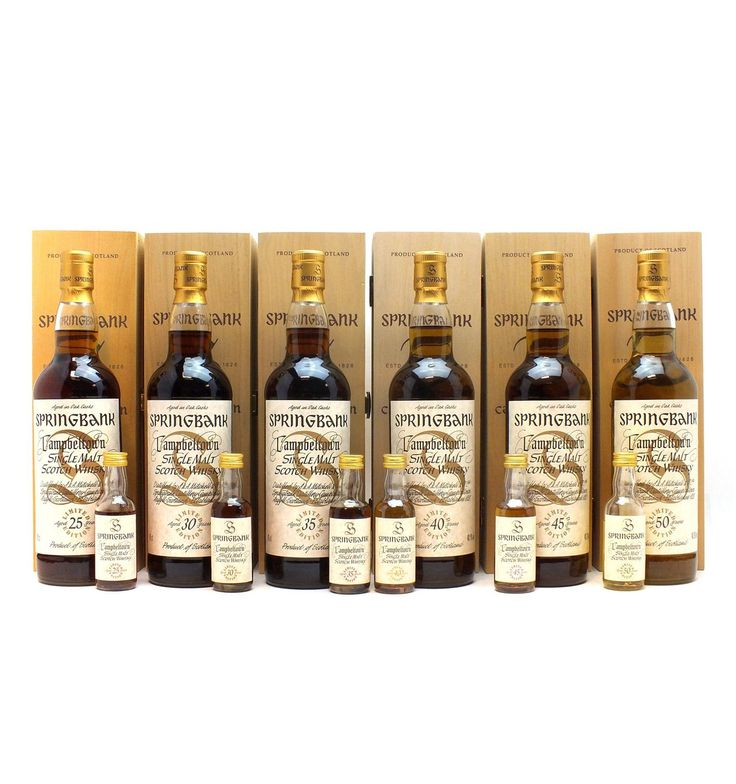 Springbank Millennium Collection with Miniatures - Just Whisky Auction