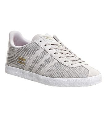 Adidas Gazelle Og W Pearl Grey Joy Pink Print - Fashion Trainers. Ladies  Sneakers ...