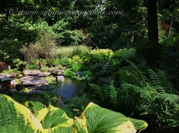 A Pond & Lush Garden in Rockland County, NY - eclectic - landscape - new york - by Summerset Gardens/Joe Weuste